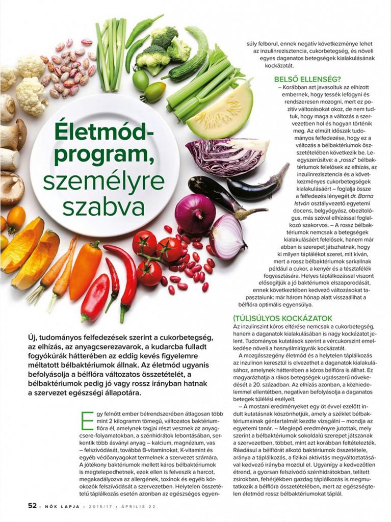 Nők Lapja - Dr. Barna István - Diavitas - 1